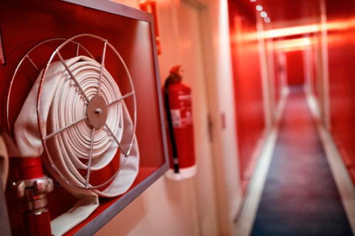 instal·lació de protecció activa contra incendis.