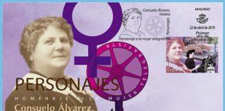 Consuelo alvarez sello mujer telegrafista
