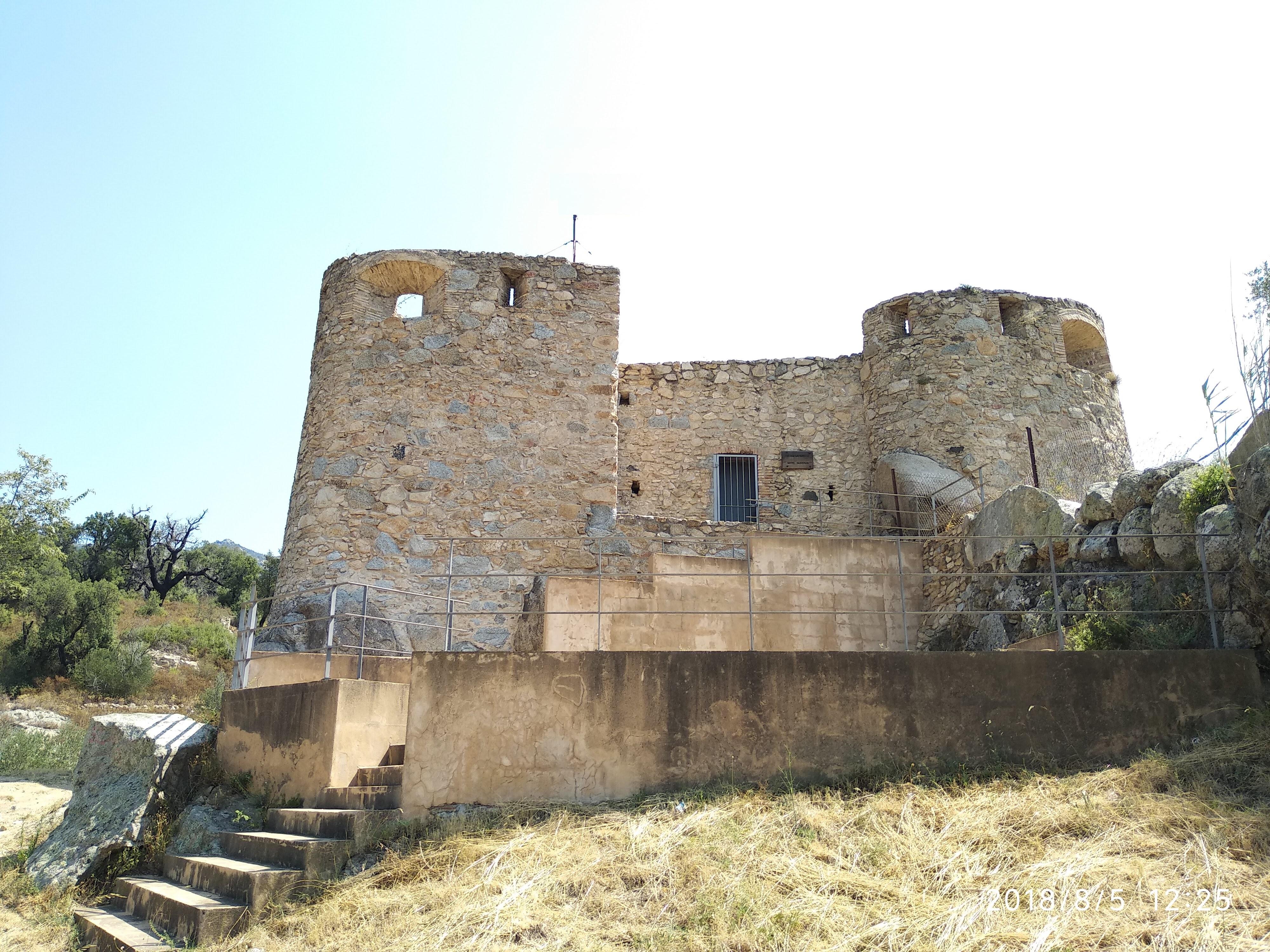 telegrafia optica barcelona-la jonquera Torre La jonquera