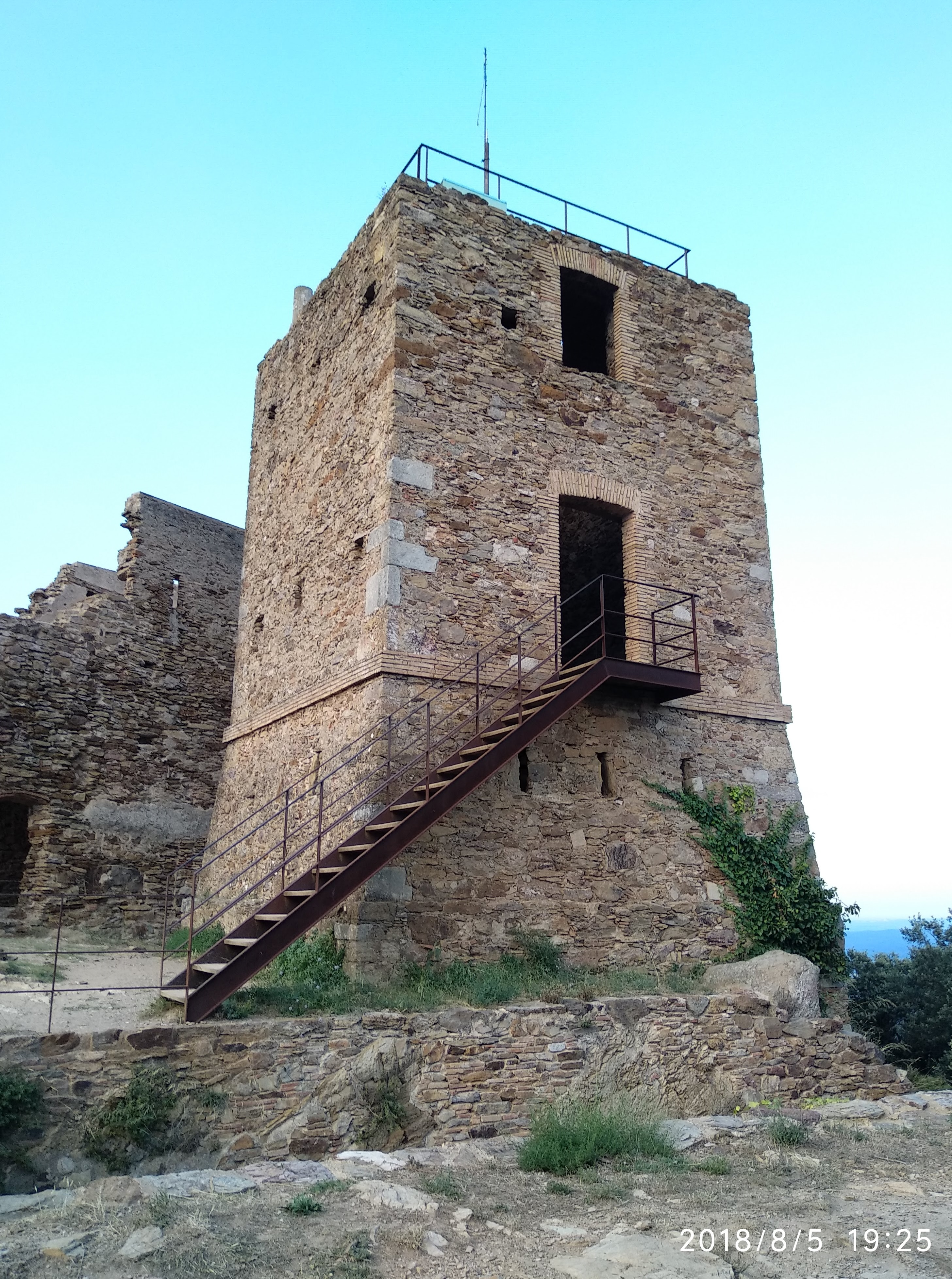 telegrafia òptica civil Torre Sant Miquel Celrà